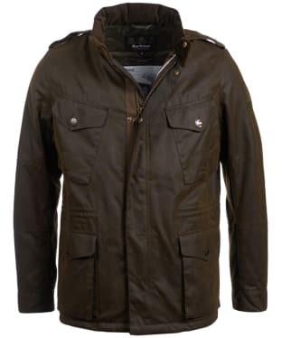 Men's Barbour Steve McQueen Tuscon Waxed Jacket - Olive