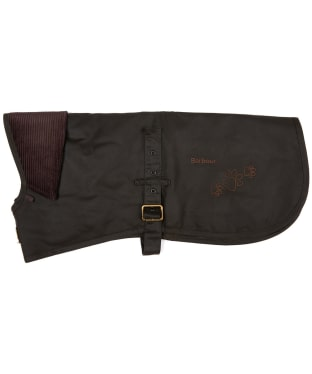 Barbour Battersea Waxed Dog Coat - Olive