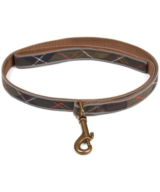Barbour Tartan Reflective Dog Lead