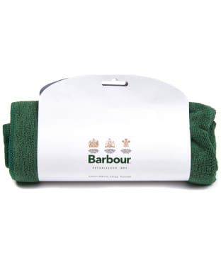 Barbour Micro Fibre Dog Towel - Green
