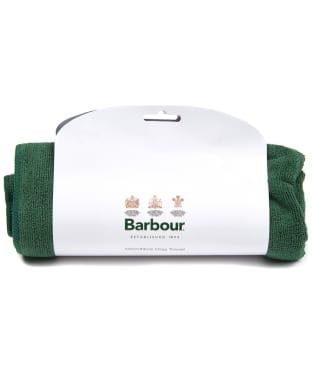 Barbour Micro Fibre Dog Towel - Green