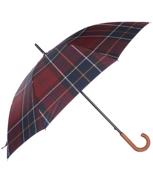 Barbour Tartan Walker Umbrella - Red Tartan