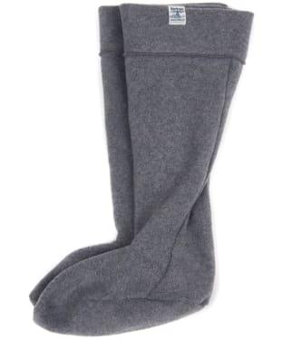 Barbour Fleece Wellington Socks - Light Grey