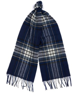 Barbour Lowerfell Scarf - Navy / Grey