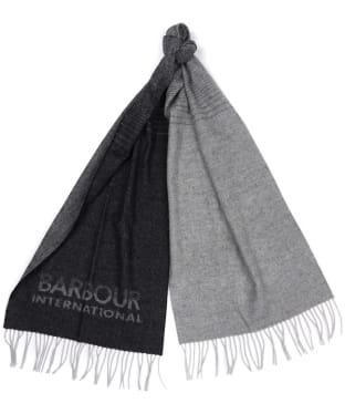 Barbour International Throttle Scarf - Black / Grey