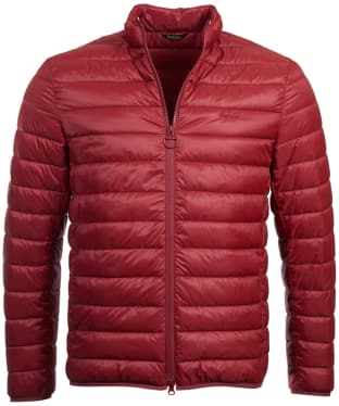 Men's Barbour Penton Quilted Jacket - Biking Red