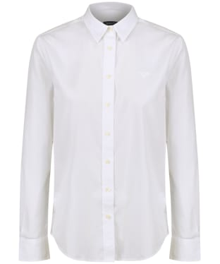 Women's GANT Broadcloth Shirt - White