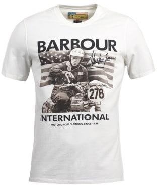 Men's Barbour Steve McQueen Paddock Tee - Neutral