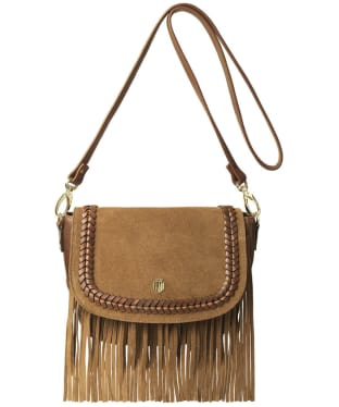 Women's Fairfax & Favor Portobello Bag - Tan Suede