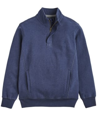 Men's Joules Oakhurst Funnel Neck Sweatshirt - French Navy Marl