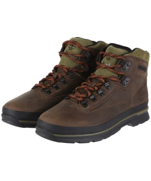 Men's Timberland Euro Hiker SF Leather Boots - Dark Brown