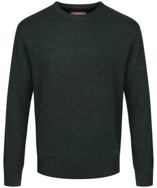 Men's Schoffel Lambswool Crew Neck Sweater