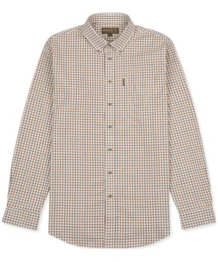 Men's Musto Classic Button Down Check Shirt - Keldy Tabac