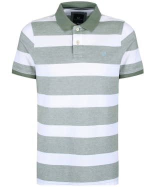 Men's Crew Clothing Two Tone Oxford Polo Shirt
