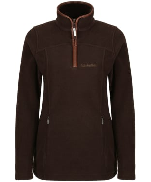 Women's Schoffel Tilton 1/4 Zip Fleece - Mocha