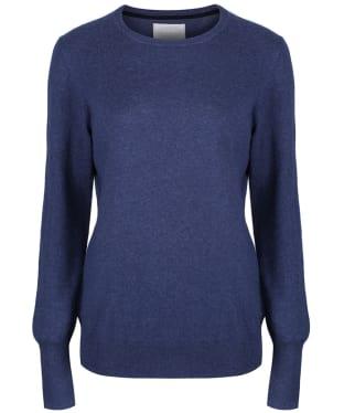 Women's Schoffel Cotton Cashmere Crew Neck Sweater