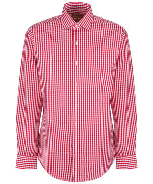 Men's Schoffel Harlington Shirt - Red Gingham