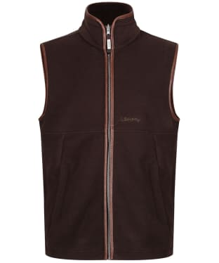 Men's Schoffel Oakham Fleece Gilet - Mocha
