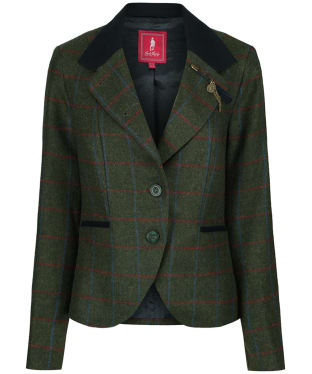 Women's Jack Murphy Harriet Tweed Jacket - Green Check