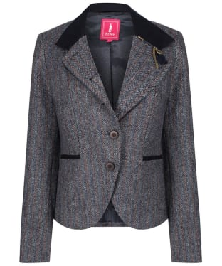 Women's Jack Murphy Harriet Tweed Jacket - Blue Moon
