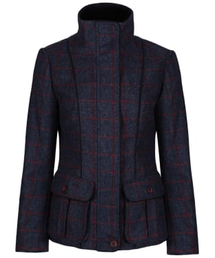 Women's Jack Murphy Prue Tweed Jacket - Navy Check