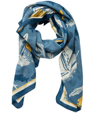 Women's Seasalt Scenic Scarf - Sea Shanty Singers Starling