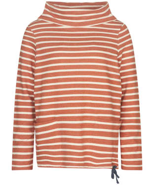 Women's Seasalt Low Seas Sweatshirt - Breton Oar Ecru