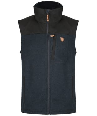 Men's Fjallraven Buck Fleece Vest - Graphite