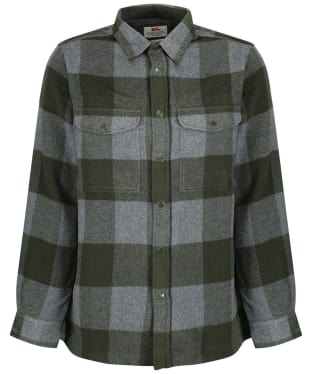 Men's Fjallraven Canada Long Sleeve Shirt - Deep Forest