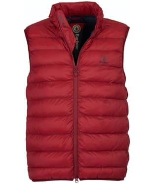 Men's Barbour Askham Gilet - Biking Red