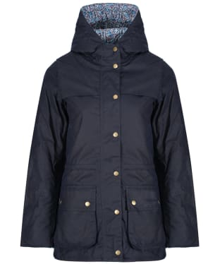 Women's Barbour Liberty Blaise Waxed Jacket - Royal Navy