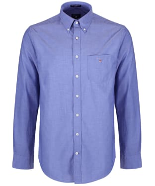 Men's GANT Regular Broadcloth Shirt - Yale Blue