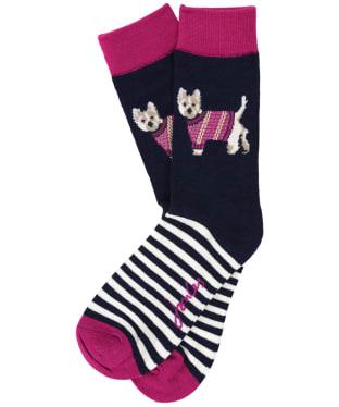 Women's Joules Brilliant Bamboo Socks - Westie