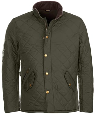 Men's Barbour Powell Quilted Jacket - Sage