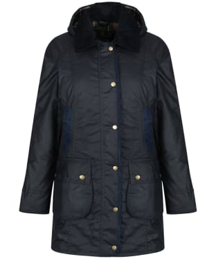 Women's Barbour Bower Wax Jacket - Navy