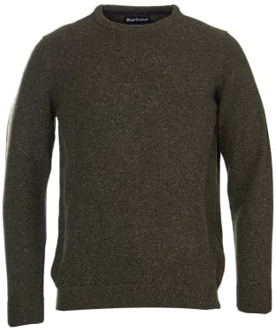 Men's Barbour Tisbury Crew Neck Sweater - Dark Seaweed