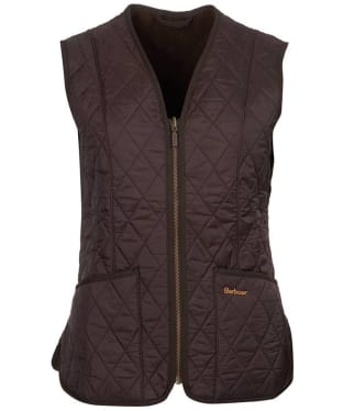 Women's Barbour Fleece Betty Liner - Brown