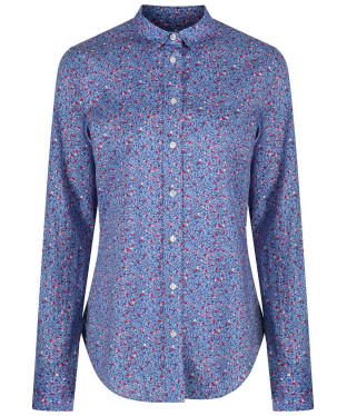 Women's GANT Stretch Preppy Shirt - Winter Sky