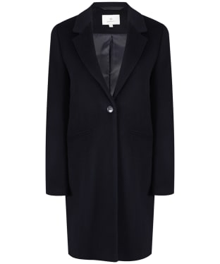 Women's GANT Diamond G Classic Tailored Coat - Marine