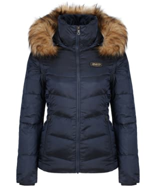 Women's Musto Burghley Quilted 2 in 1 Jacket - True Navy