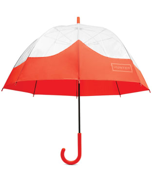 Hunter Original Moustache Bubble Umbrella - Orange