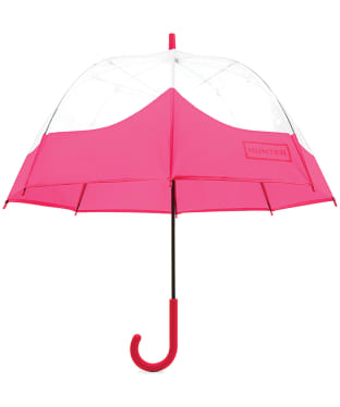 Hunter Original Moustache Bubble Umbrella - Bright Pink