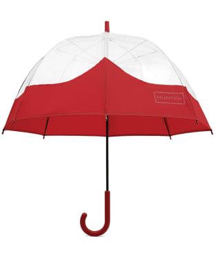 Hunter Original Moustache Bubble Umbrella - Military Red