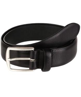 Men's GANT Leather Belt - Black