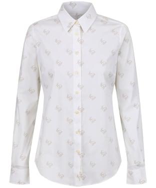 Women's Schoffel Norfolk Shirt - Marble Hare