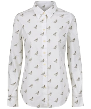 Women's Schoffel Norfolk Shirt - Grey Ptarmigan