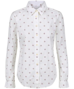 Women's Schoffel Norfolk Shirt - Fig Bluebell