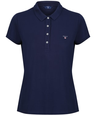 Women's GANT Polo Shirt - Evening Blue
