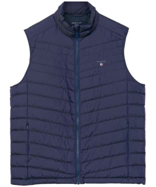 Men's GANT The Airlight Down Gilet - Dusk Blue