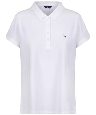Women's GANT Polo Shirt - White